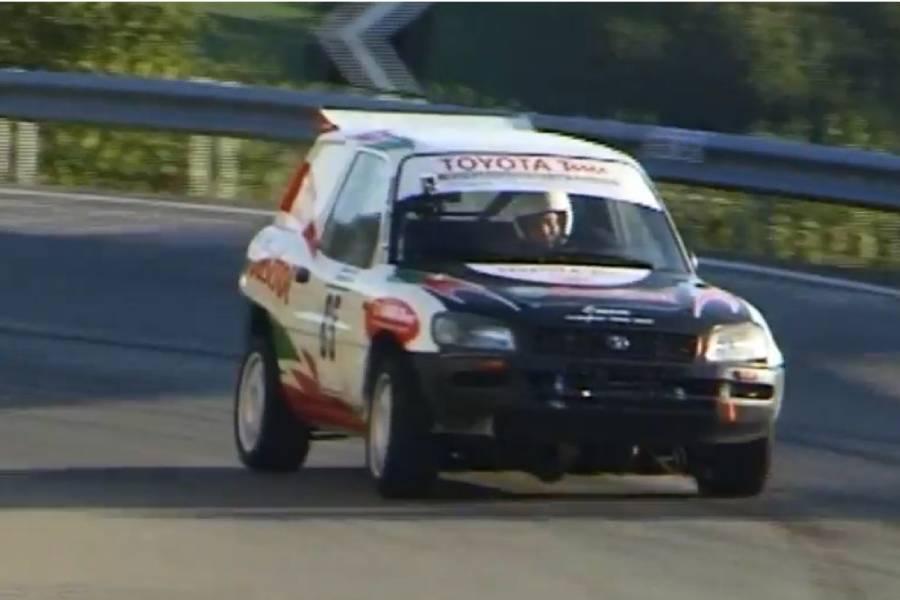 RAV4 με μοτέρ Celica GT-Four «βομβαρδίζει» (+video)