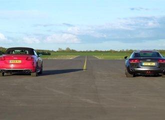 Είναι πιο γρήγορο το Audi TTS από R8 V8; (+video)