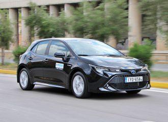 Δοκιμή Toyota Corolla HB Hybrid 1.8 λτ. 122 PS