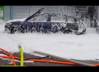Έβαλε βενζίνη αντί ντίζελ και έκαψε το αυτοκίνητο