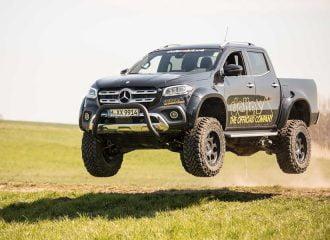 Mercedes X-Class για… ιπτάμενους και τζέντλεμαν!