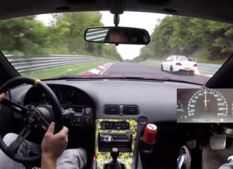 Σεμινάριο οδήγησης από «χερά» με Nissan 200SX στο 'Ring (+video)