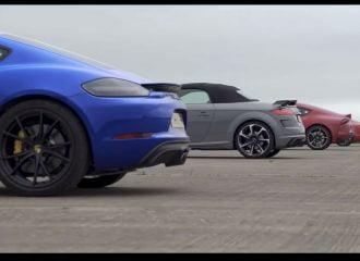 Η Toyota Supra  «σφάζεται» με τον ανταγωνισμό (+video)