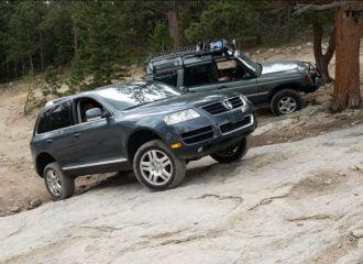 VW Touareg εκθέτει βελτιωμένο Land Rover Discovery! (+video)