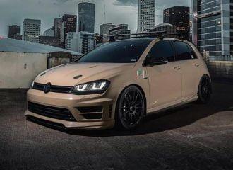 VW Golf R σαν άλλη «Καταιγίδα της ερήμου»!