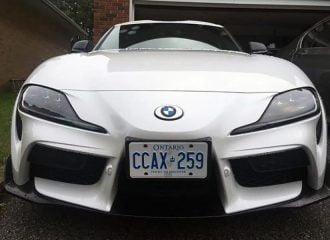 Πήρε νέα Toyota Supra και έβαλε σήματα BMW!