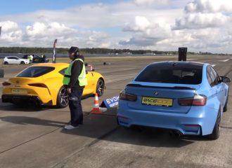 BMW M3 650 HP VS Toyota Supra 700 HP (+video)