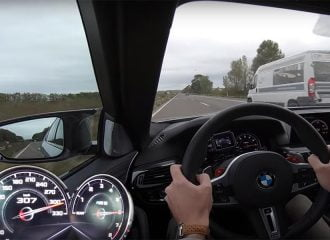 BMW M5 Competition πάει με 307 χλμ./ώρα!(+video)