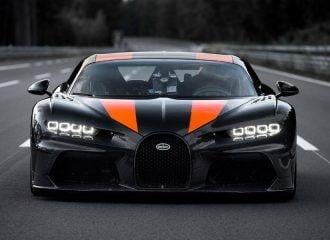 Στην παραγωγή η Bugatti Chiron που ξεπέρασε τα 490 χλμ./ώρα!