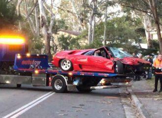 Lamborghini Diablo βγήκε «ολική» αμέσως μετά την αγορά της