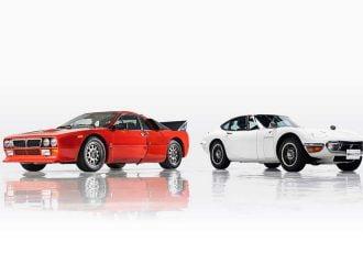Στο σφυρί εξαιρετικά σπάνια Lancia και Toyota
