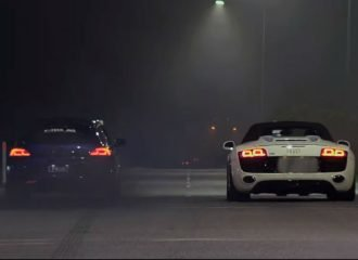 Βελτιωμένο VW Scirocco R «ανοίγει» με Audi R8 (+video)