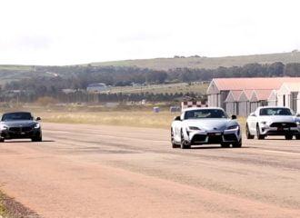 Η Toyota Supra «ρίχνει» σε BMW Z4 M40i και Ford Mustang GT (+video)
