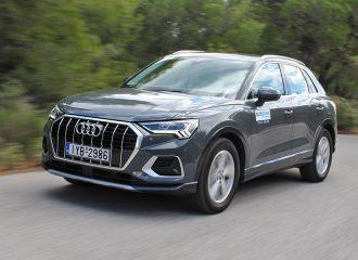 Audi Q3 με 107 ευρώ το μήνα και 0% επιτόκιο