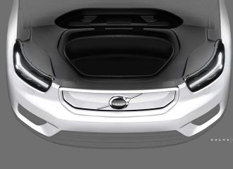 Mε εμπρός χώρο αποσκευών το ηλεκτρικό Volvo XC40 (+videos)