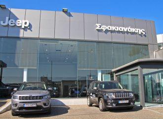 Νέο κατάστημα Jeep Σφακιανάκης στο Αιγάλεω