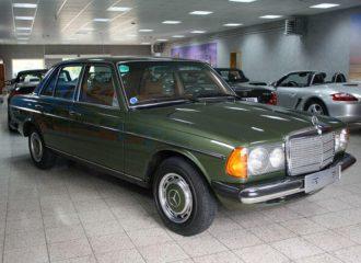 Αθάνατη Mercedes-Benz 200 του 1976 με 14.044 χλμ.!