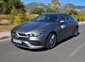 Δοκιμή Mercedes-Benz CLA Coupe 180 d 7G-DCT