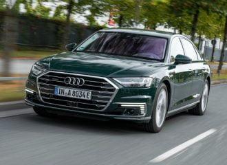 Νέο υβριδικό Audi A8 με 450 ίππους και 2.5 λτ./100 χλμ.