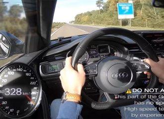 Audi RS 6 1.012 ίππων πάει με 328 χλμ./ώρα (+video)