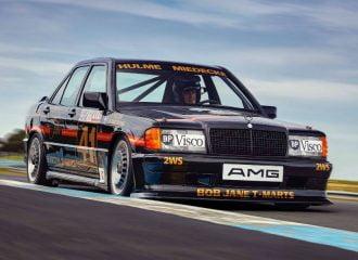 Αγωνιστική Mercedes 190E 2.3-16 αναγεννάται