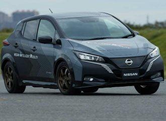 Τετρακίνητο Nissan LEAF e+ με 680 Nm ροπής