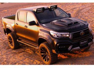 Πολύ άγριο Toyota Hilux Black Bison