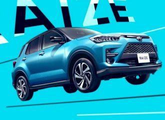 Νέο μικρό crossover Toyota Raize