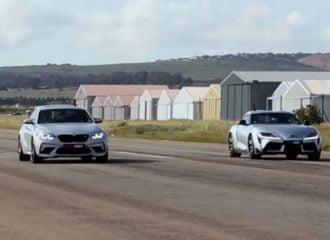 Η Toyota Supra «δεν έχει» την BMW M2 (+video)