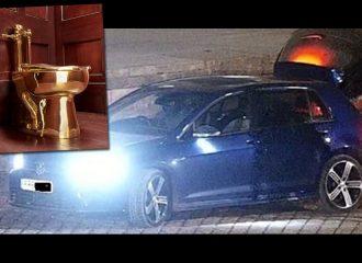 Αναζητείται VW Golf R για ληστεία χρυσής λεκάνης!
