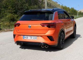 VW T-Roc R «γαζώνει» στο 0-100 χλμ./ώρα (+video)