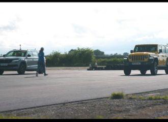 Το Jeep Wrangler «βγάζει το λάδι» στο Skoda Kodiaq RS (+video)