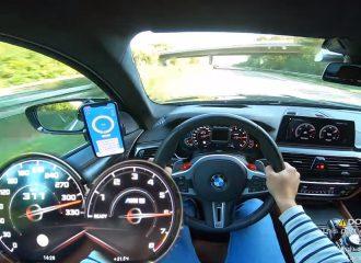 BMW M5 με 770 άλογα είναι συγκλονιστική! (+video)