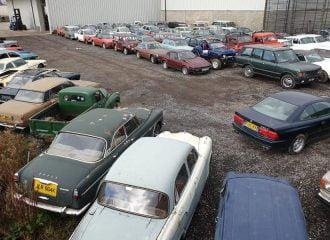 Στο σφυρί εγκαταλειμμένη συλλογή 135 αυτοκινήτων!