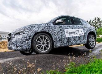 Αντίστροφη μέτρηση για τη νέα Mercedes GLA
