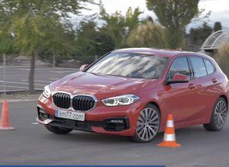 Υποστροφική η νέα BMW Σειρά 1 στον τάρανδο (+video)