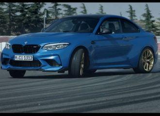 Η νέα BMW M2 CS «τσικνίζει» λάστιχο (+video)