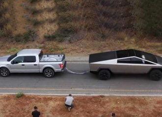Κόντρα έλξης Tesla Cybertruck VS Ford F-150 (+video)