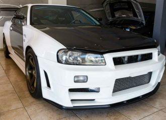 Πωλείται ελληνικό Nissan Skyline R34 1300 ίππων! (+video)
