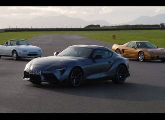 Toyota Supra, Mazda MX-5 ή Honda NSX; (+video)