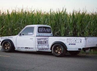 Αγροτικό Datsun με μοτέρ από Silvia έτοιμο για πίστα!