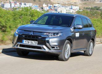 Δοκιμή Mitsubishi Outlander PHEV