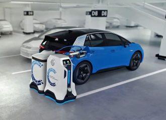 Ρομπότ της VW θα φορτίζουν τα ηλεκτρικά αυτοκίνητα!