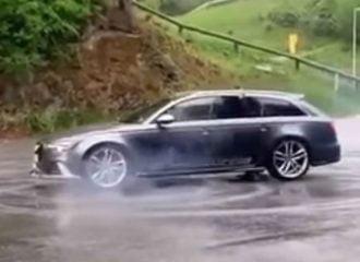 Ανωριμότητες «σπάνε» την μετάδοση Audi RS 6 (+video)