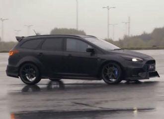 Μοναδικό και «σκοτεινό» Ford Focus RS Wagon (+videos)