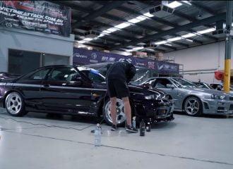 Η ευλαβική φροντίδα ενός Nissan Skyline R33 (+video)