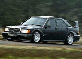 190E 2.5-16V Evo II: Ο λύκος της Mercedes (+video)