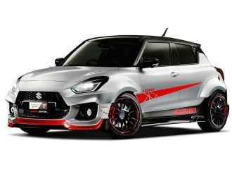 Suzuki Swift Sport Katana με εξατμίσεις στο πλάι!