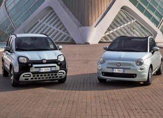 Νέα υβριδικά 1.000άρια Fiat 500 και Panda