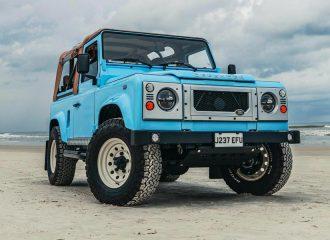 Ιδανικό Land Rover Defender για τα ελληνικά νησιά